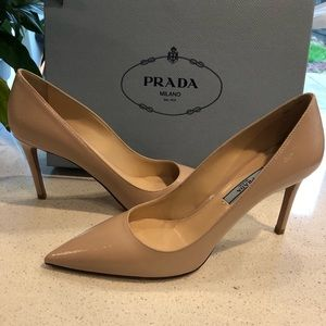 Brand New Authentic Prada Nude Heels!